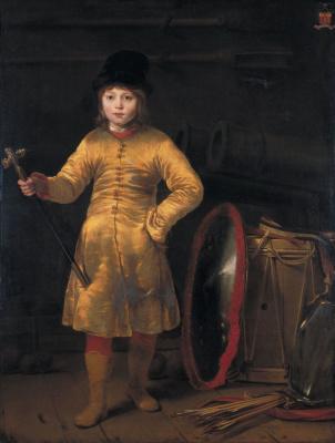 Фердинанд Балтасарс Боль. Портрет мальчика. Отто ван дер Вайен в польском костюме