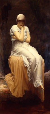 Frederic Leighton. Loneliness