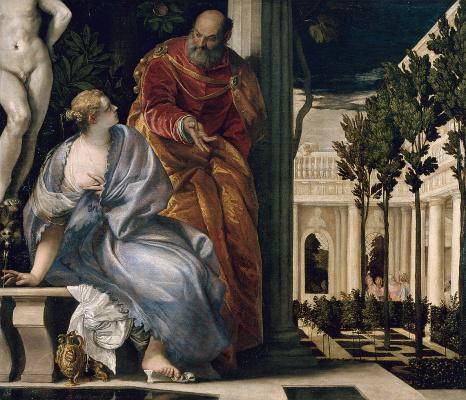 Paolo Veronese. Bathsheba bathing