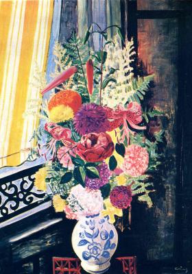 Моисей Кислинг. Букет цветов