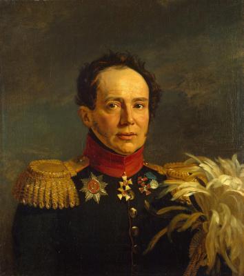 George Dow. Portrait of Nikolai Semenovich Sulima