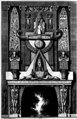 Джованни Баттиста Пиранези. Различные способы украшать камины и другие части зданий