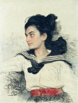 Ilya Efimovich Repin. Portrait Of M. O. Levenfeld