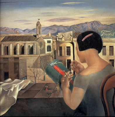 Salvador Dali. Woman at the window in Figueres