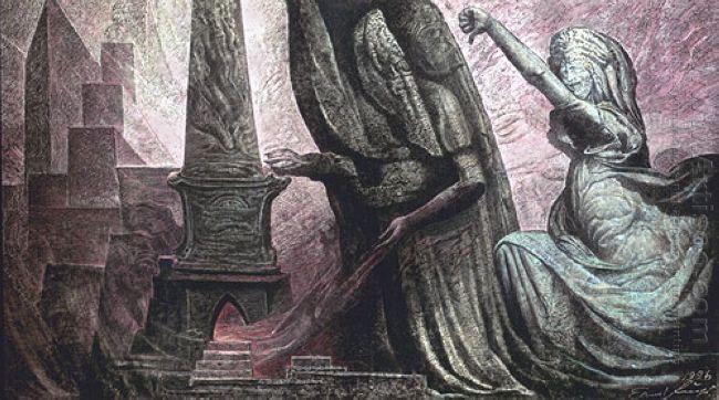Ernst Fuchs. Sodom