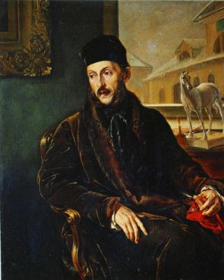 Vasily Andreevich Tropinin. Portrait Of Dmitry P. Voeikov