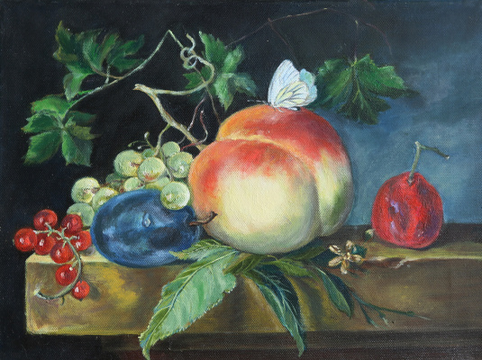 Tatyana Nikolaevna Antonova. Dutch still life with peach