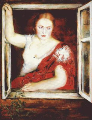 Уильямс. Женщина в окне