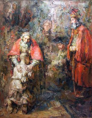 Tuman Art Gallery Tumana Zhumabayeva. Return of the prodigal son