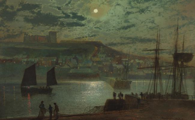 John Atkinson Grimshaw. Whitby Harbor