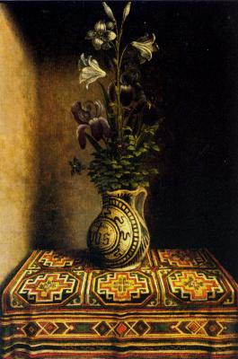 Ганс Мемлинг. Букет цветов