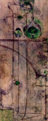 Charles Rennie Mac. Floral motif 26