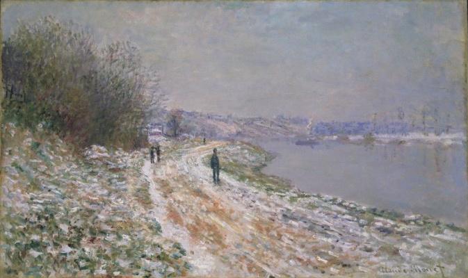 The shoreline at Argenteuil