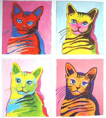 Andy Warhol. Cat
