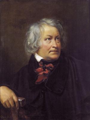 Orest Adamovich Kiprensky. Portrait of the sculptor Bartel Thorvaldsen