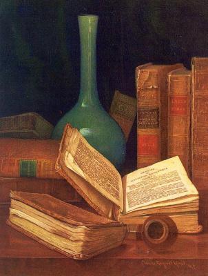 Нанос. Старые книги