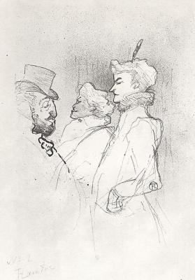 Henri de Toulouse-Lautrec. Why not?