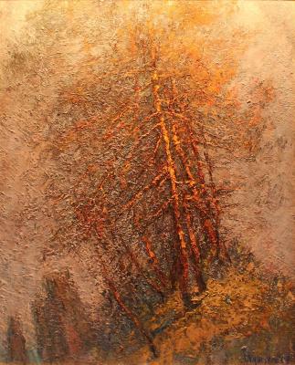 Gennady Leonidovich Kungurov. Pines by the sea