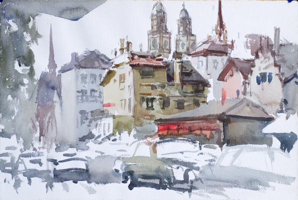 Владимир Иосифович Ружо. Швейцария