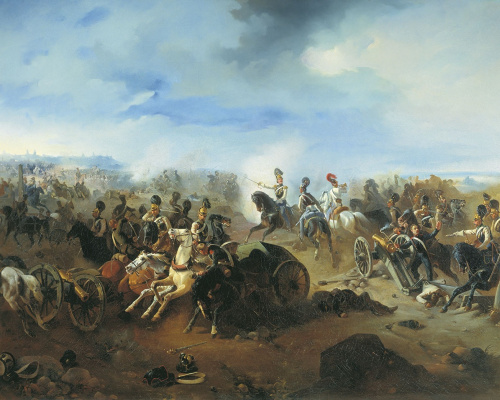 Bogdan Pavlovich Willewalde. Battle of Grokhov. February 13, 1831.