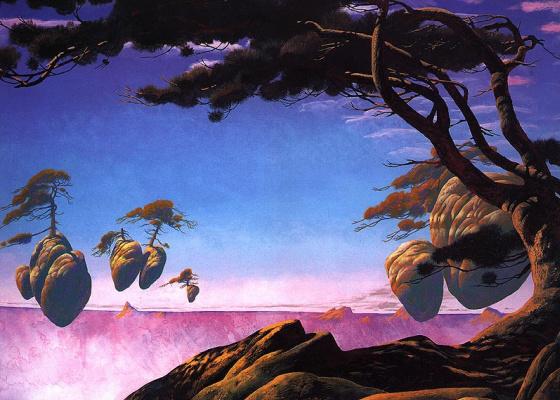 Roger Dean. Floating Islands