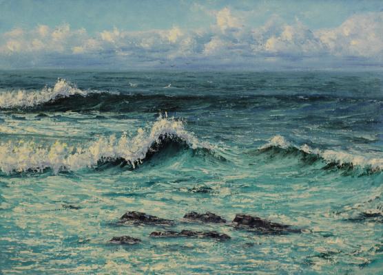 Valery Levchenko. No. Turquoise surf