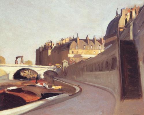 Edward Hopper. Quay des Grands Augustin