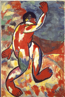 Kazimir Malevich. Bather