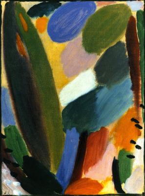 Alexej von Jawlensky. Variation: Wind