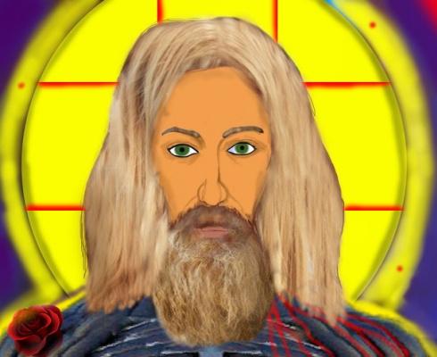 Alexander Tatarnikov. Spiritual Creativity - Jesus Christ, by Diezel Sun, Diezel Sun.
