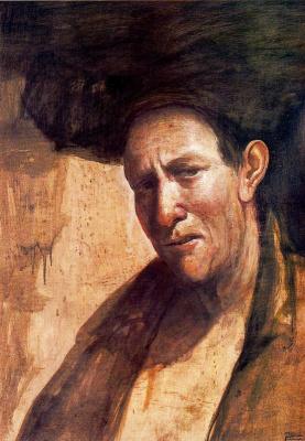 Хосе Мануэль Гомес. Мужской портрет