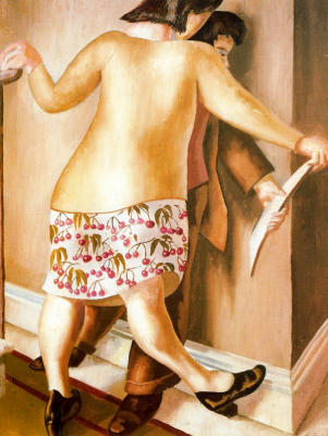 Stanley Spencer. The wall