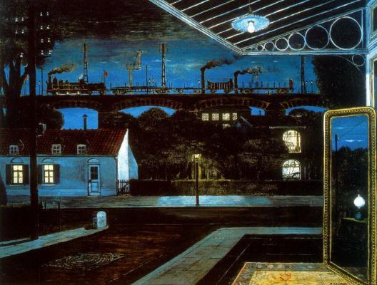 Paul Delvo. Lamp