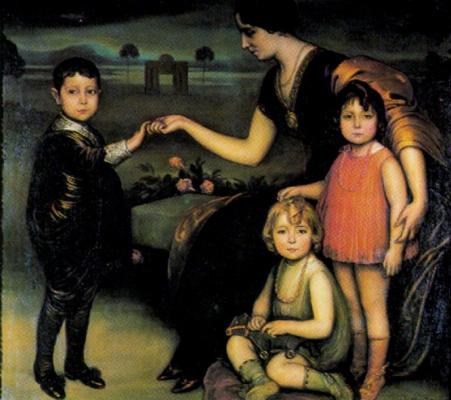 Хулио Ромеро де Торрес. Дети