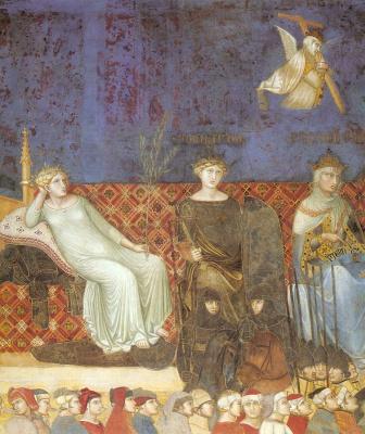 Амброджо Лоренцетти. Ангел