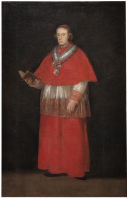 Франсиско Гойя. Луис Мария де Бурбон-и-Вальябрига