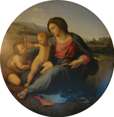 Fedor (Fidelio) Antonovich Bruni. The Alba Madonna (copy of Raphael)