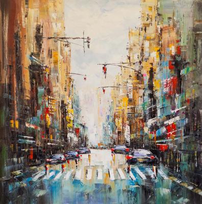 (no name). Kaleidoscope of streets N1