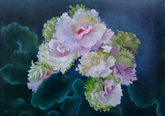 Tatyana Ivanovna Terekhova. Violets