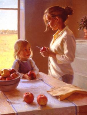 Джеффри Ларсон. Осенние яблоки