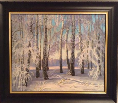 Boris Petrovich Gorodilin. Winter
