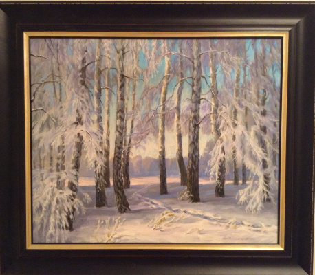 Boris Gorodilin. Winter