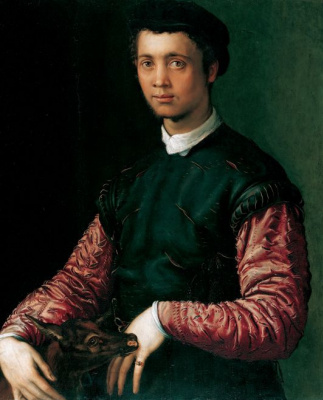 Francesco Salviati. Portrait of a young man