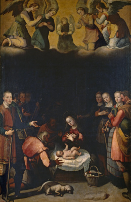 Хуан Пантоха де ла Крус. Рождение Христа