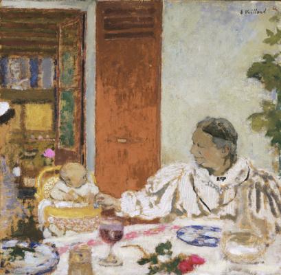 Jean Edouard Vuillard. The Meal