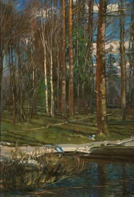 Stanislav Yulianovich Zhukovsky. Early spring