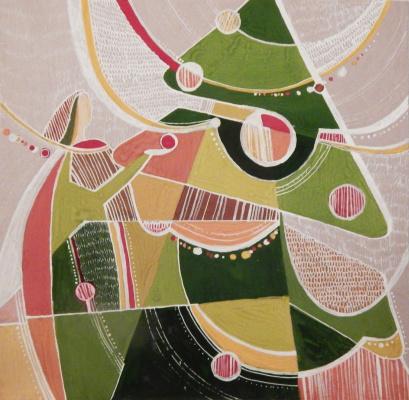 Svetlana Vladimirovna Timofeeva. Christmas chores