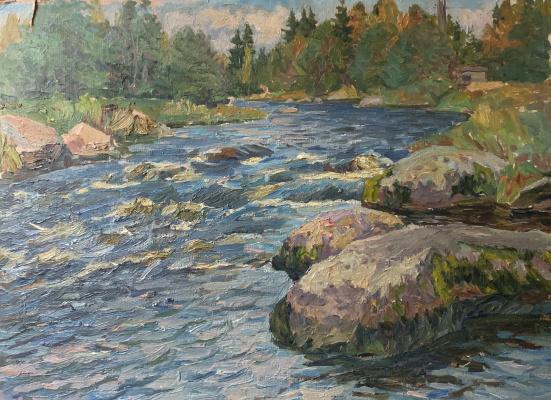 Oleg Alekseevich Dmitriev. Rough River