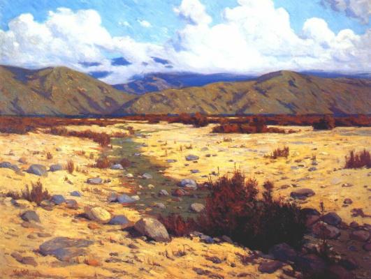 Вахтель. Пустыня, река, горы