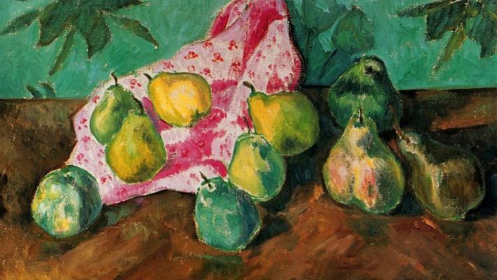 Mikhail Larionov. Pears